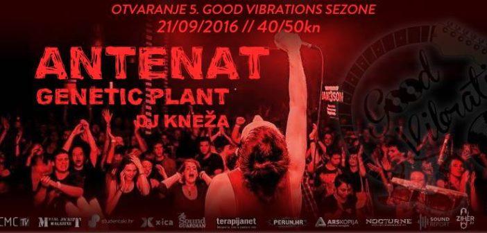 Antenat i Genetic Plant u Vintageu otvaraju petu sezonu Good Vibrations programa