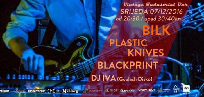 Bilk, Plastic Knives i Blackprint na Good Vibrations-u
