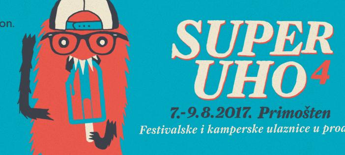 Najavljeni prvi izvođači 4. SuperUho festivala