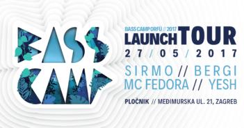 bass camp orfu launch party zagreb