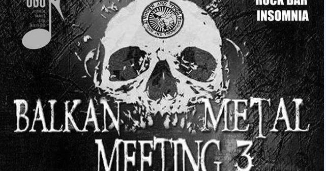 Brojni metal bendovi na 3. Balkan Metal Meetingu u Slavonskom Brodu