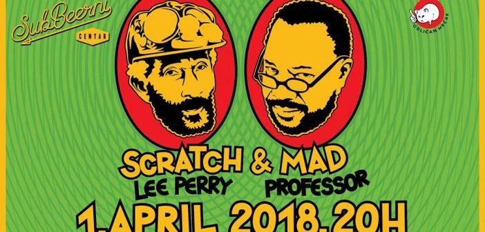 "Lee ""Scratch"" Perry i Mad Professor, osim u Ljubljanu, stižu i u Beograd!"