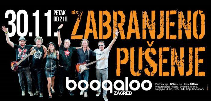 """Zabranjeno Pušenje u zagrebačkom klubu Boogaloo promovira novi album """"Šok i nevjerica"""""""