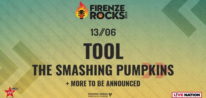 The Smashing Pumpkins novo ime Firenze Rocks festivala