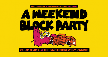 A Weekend Block Party_najava
