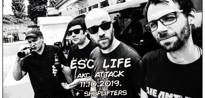 ESC Life nastupa u zagrebačkom klubu Attack