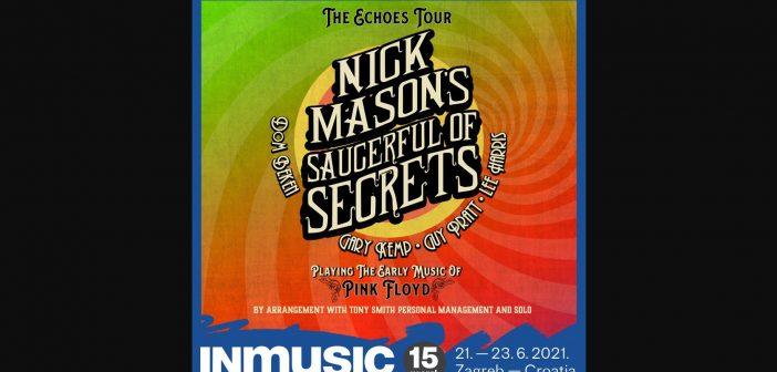 Nick Mason's Saucerful of Secrets stižu na 15. INmusic