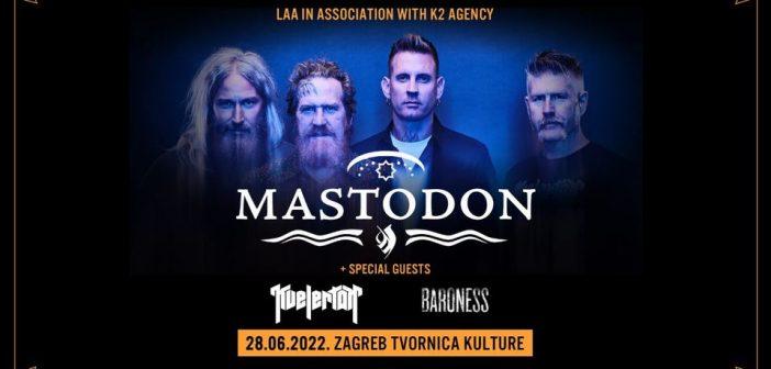 Mastodon, miljenici zagrebačke publike, ponovno stižu u metropolu